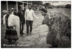FOTO AFRICA ETIOPIA MUJER HIERBA
