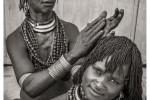 FOTO AFRICA ETIOPIA MUJERES HAMER PELO