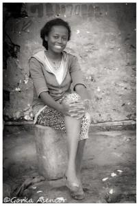 FOTO AFRICA ETIOPIA CHICA