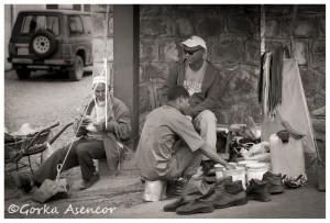 FOTO AFRICA ETIOPIA ADDIS ABEBA LIMPIABOTAS