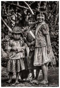 BIRMANIA MYANMAR NIÑOS